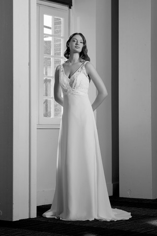 Robe de mariée par Brochet
