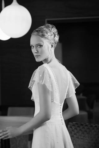 Robe de mariée Pastel par Brochet