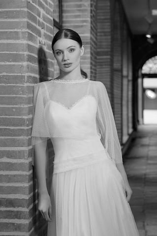 Robe de mariée Platine par Brochet