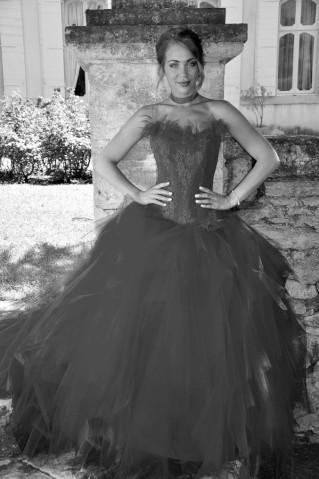 Robe de mariée Pomme d'Amour par Les Mariées de Provence