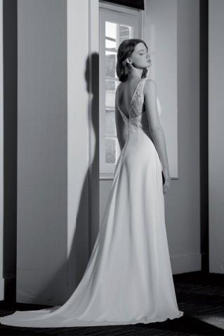 Robe de mariée Ponctuelle par Brochet