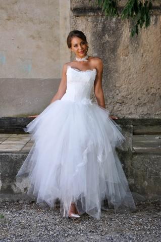 Robe de mariée Barbapapa par Les Mariées de Provence